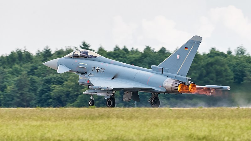 31%2B07 German Air Force Eurofighter Typhoon EF2000 ILA Berlin 2016 04.jpg