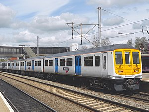 British Rail Class 769 - Image: 319447 Bedford