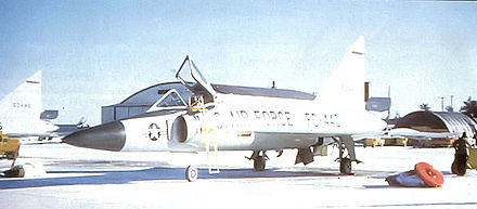 F-102A-80-CO Delta Dagger – 56-1440, 31st FIS, 1958 - Wurtsmith Air Force Base
