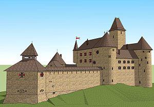 Samobor Castle - 3d reconstruction of Samobor Castle