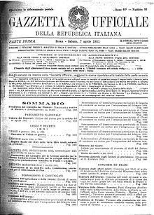 Ufficiale pdf gazzetta