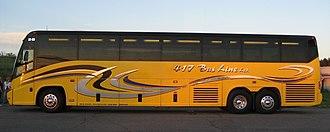 Bus companies in Ontario - Image: 417 Bus Line 3203