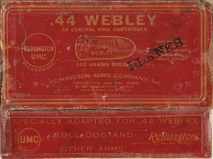 .442 Webley - Remington/UMC .442 Webley Box Labels
