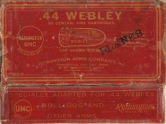 .442 Webley - Remington/UMC .442 Webley Box Labels