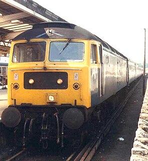 British Rail Class 48 Class of diesel electric locomotives