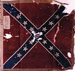 Battle flag of the 49th North Carolina Infantry
