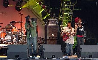 4th Avenue Jones - 4th Avenue Jones at the Alive Festival on June 21, 2005