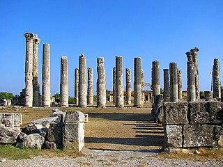 Uzuncaburç (Diokaisareia) Archaeological site in Turkey