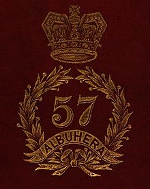 57th (West Middlesex) Regiment of Foot badge.jpeg
