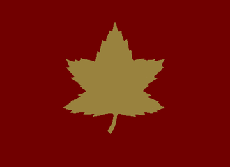 5th Canadian Division - Formation patch used to identify vehicles of the 5th Canadian (Armoured) Division.