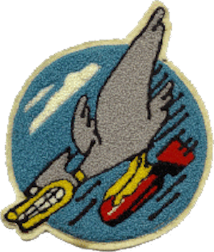 Daffy Duck - 600 Bomb Squadron emblem Daffy Duck.