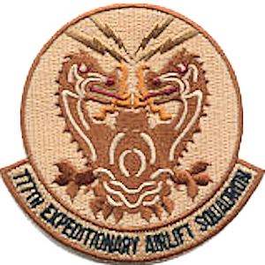 777th Expeditionary Airlift Squadron - Subdued desert patch of the 777th Expeditionary Airlift Squadron