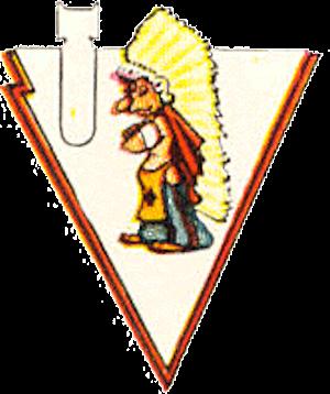 781st Bombardment Squadron - Emblem of the World War II 781st Bombardment Squadron