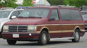 Chrysler minivans (S) - 1989 Dodge Grand Caravan
