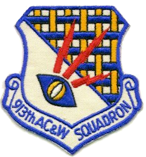 913th Aircraft Control and Warning Squadron - Emblem of the 913th Aircraft Control and Warning Squadron