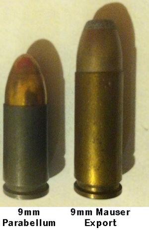 9×25mm Mauser