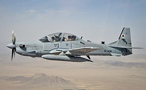 كولومبيا قد تنفق 1 مليار دولار لشراء مقاتلات جديده لسلاحها الجوي  300px-A-29_Over_Afghanistan