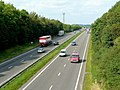 A38 trunk road near Swanwick - geograph.org.uk - 1480177.jpg