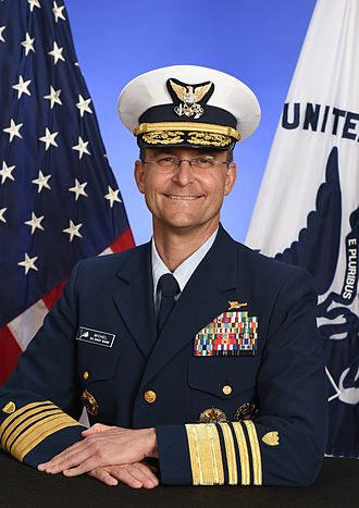 Vice Commandant of the United States Coast Guard - Image: ADM Charles Michel