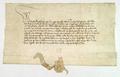 AGAD Wielki mistrz zakonu krzyzackiego, pozwala Wladyslawowi Jagielle polowac w puszczach krzyzackich.png