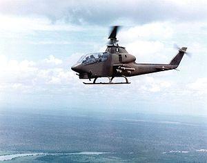 Bell AH-1 Cobra - Bell AH-1G over Vietnam
