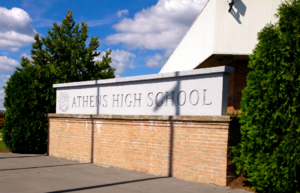 Athens High School (Ohio) - Image: AHS Front Sign
