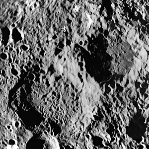 Neujmin (crater) - Image: AS15 M 1852
