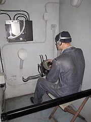 File:ASDIC hut, Merseyside Maritime Museum (1).jpg - Wikimedia Commons