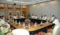 A Congress delegation led by Tamil Nadu, PCC President, Shri KV Thangabalu meeting with the Prime Minister, Dr. Manmohan Singh, in New Delhi on July 20, 2008.jpg