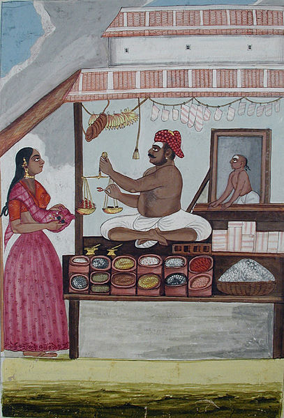 File:A bazaarwalla and a customer (6125146422).jpg