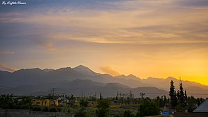 A beautiful sunrise in parachinar.jpg