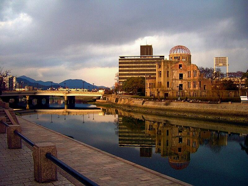 A bomb dome hiroshima sunset.jpg