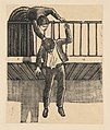 A woman discovering a man who has committed suicide by hanging himself from a balcony MET DP868023.jpg