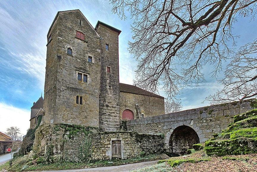 Château de Jouffroy-d'Abbans (InscritClassé)