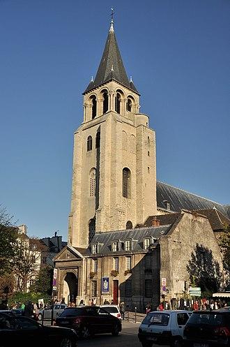 Architecture of Paris - Image: Abbey of Saint Germain des Prés 002