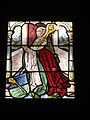 Abbot, Medieval stained glass, Worcester Art Museum - IMG 7484.JPG