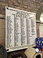 Abergavenny & District War Memorial plaque, August 2018 (2).jpg