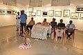 Abhoy Nath Ganguly Addresses - Group Exhibition Inauguration - PAD - Kolkata 2016-07-29 5278.JPG