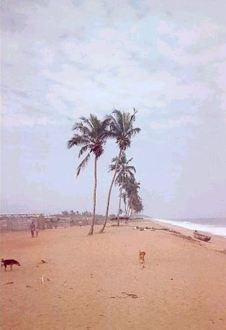Abidjan - Beach of Vridi