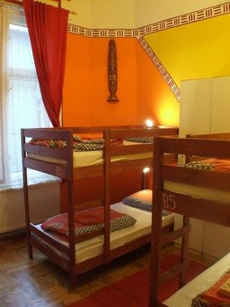 Lodging - Dorm room from a hostel in Budapest, Hungary