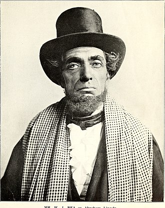 Abraham Lincoln (play) - William J. Rea in the London production of Abraham Lincoln