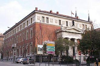 Royal Spanish Academy - Image: Academia de la Lengua
