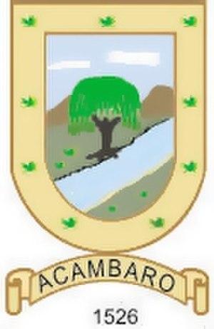 Acámbaro - Image: Acambaro escudo ch