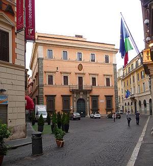 Palazzo Carpegna in Rome, Museum and Accademia...