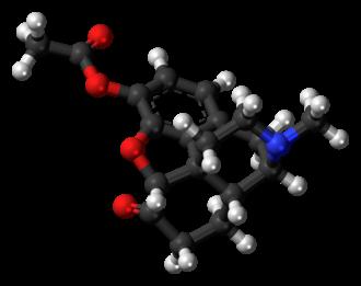 Acetylmorphone - Image: Acetylmorphone molecule ball