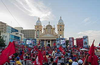 United Socialist Party of Venezuela - Party meeting in Maracaibo in December 2012