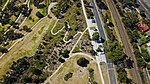 Aerial perspective of the parkland at Ferntree Gully Quarry Recreational Reserve.jpg
