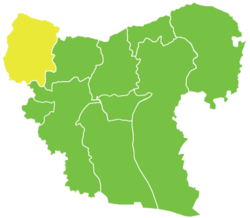 Afrin District in Syria