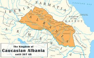 Caucasian Albania - Caucasian Albania until 387