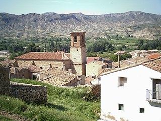 Aguilar del Río Alhama Municipality in La Rioja, Spain